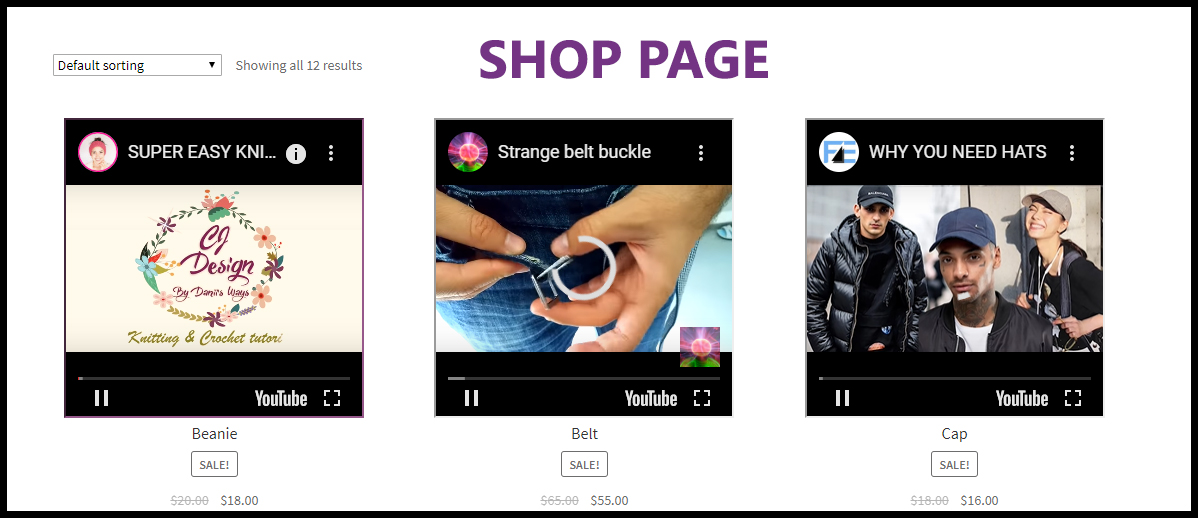 WooCommerce Product Featured Video Plugin - 1