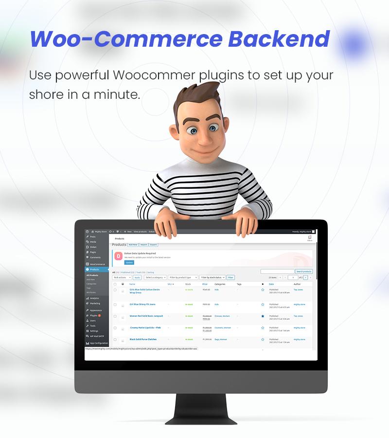 MightyStore - WooCommerce Universal Flutter 2.0 App For E-commerce App - 18