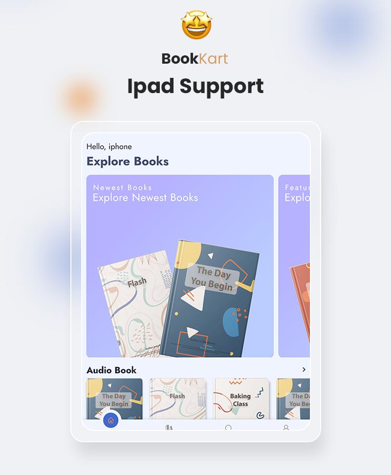 Bookkart: Flutter Ebook Reader App For WordPress with WooCommerce - 13
