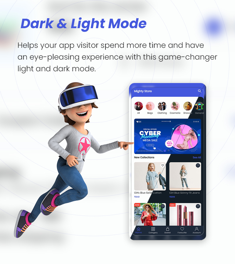 MightyStore - WooCommerce Universal Flutter 2.0 App For E-commerce App - 21