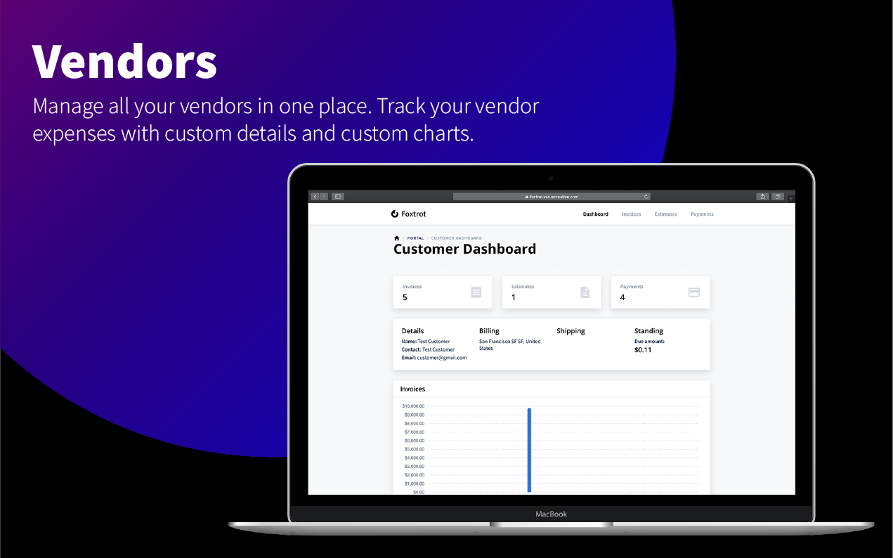 Foxtrot SaaS - Customer, Invoice and Expense Management System - 12