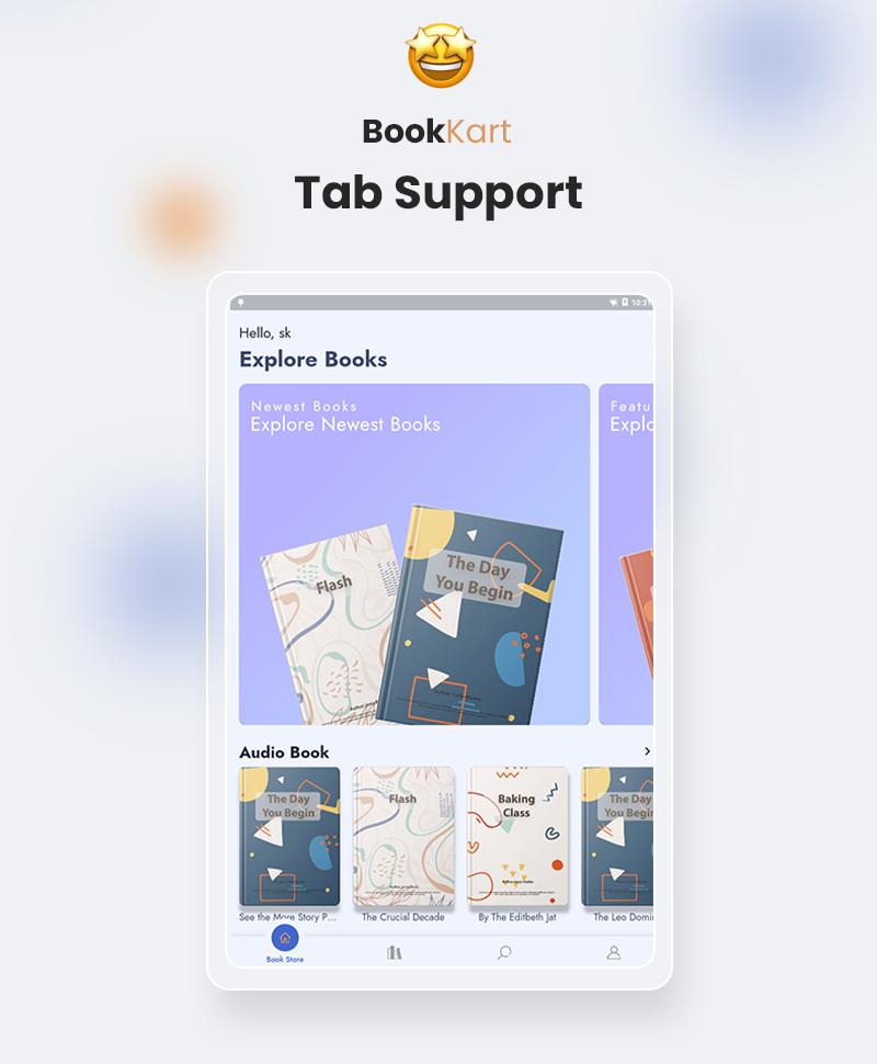 Bookkart: Flutter Ebook Reader App For WordPress with WooCommerce - 14