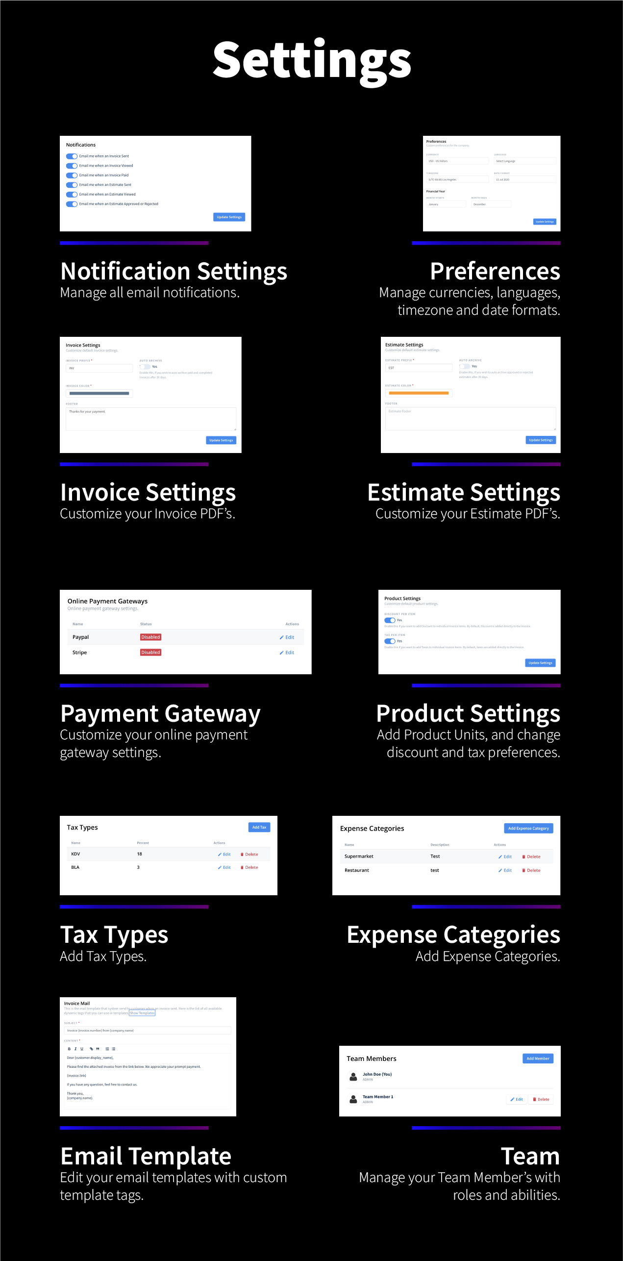 Foxtrot SaaS - Customer, Invoice and Expense Management System - 13