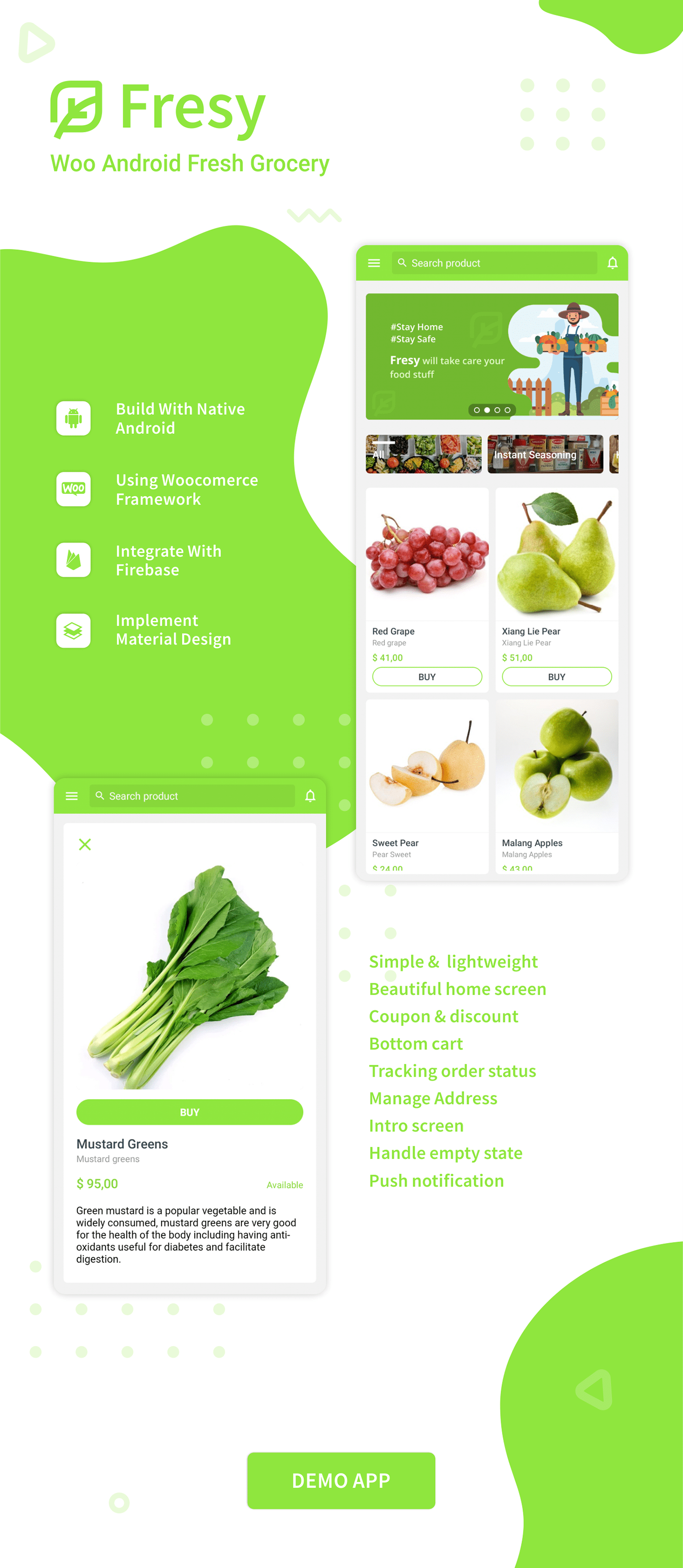 Fresy - Woocommerce Android Fresh Grocery 1.0 - 2