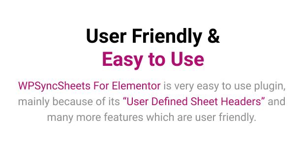 WPSyncSheets For Elementor - Elementor Pro Form Google Spreadsheet Addon - 12