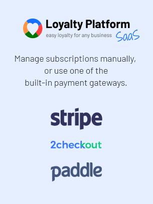 Loyalty Platform - SaaS - 9
