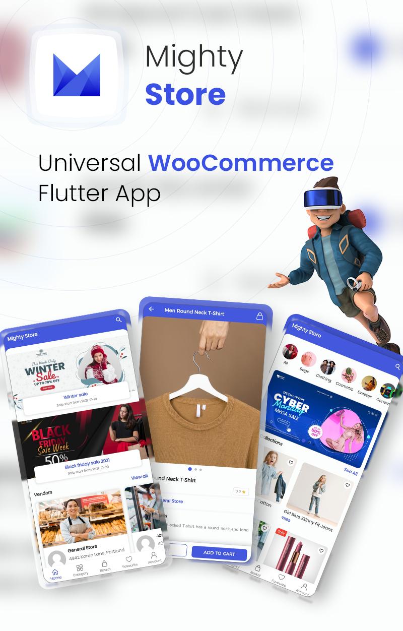 MightyStore - WooCommerce Universal Flutter 2.0 App For E-commerce App - 5