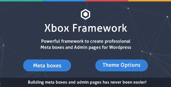 Custom Fields & Options Plugin for WordPress - Xbox Framework - 11