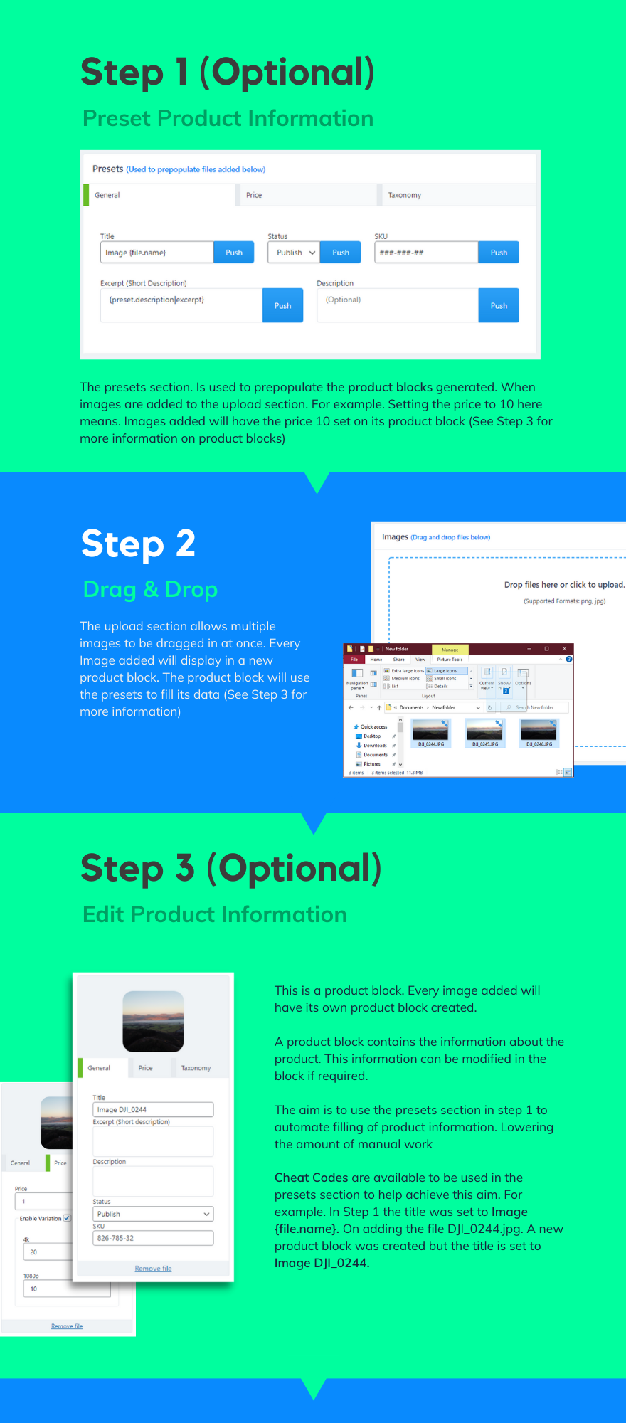 steps to market