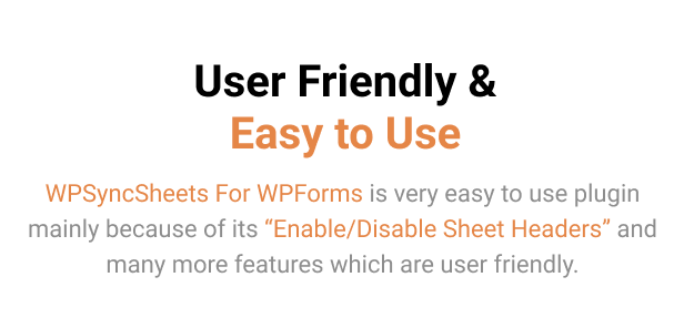 WPSyncSheets For WPForms - WPForms Google Spreadsheet Addon - 12