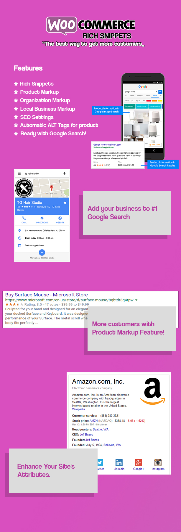 WooCommerce Rich Snippets - Local SEO & Business SEO Plugin - 1