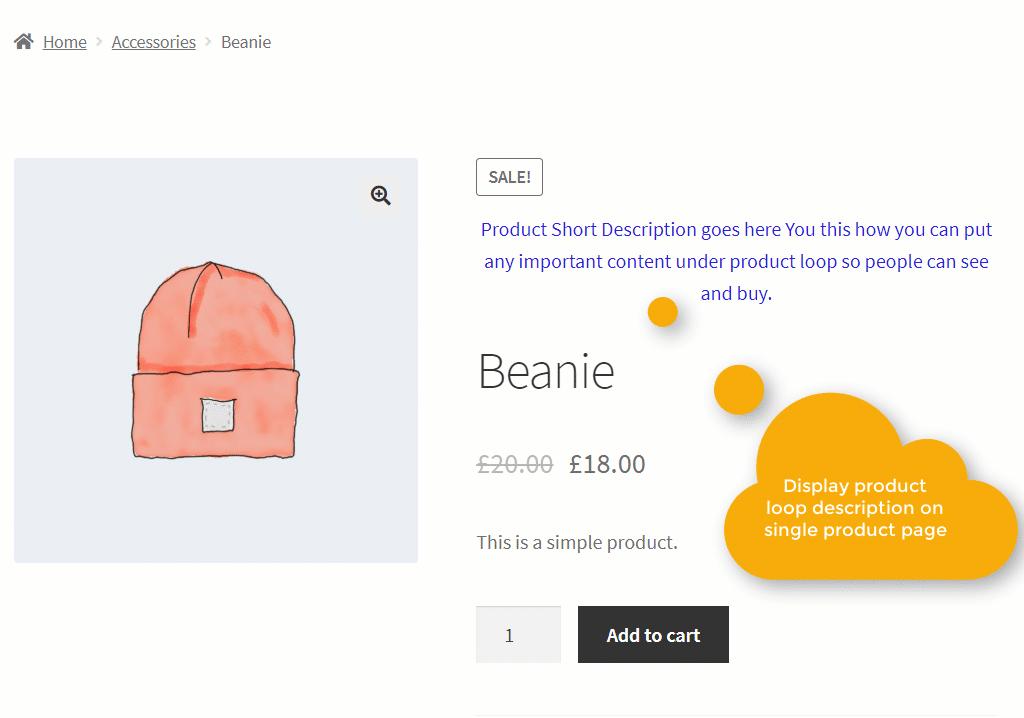 WooCommerce Show Product Description in Loop Plugin