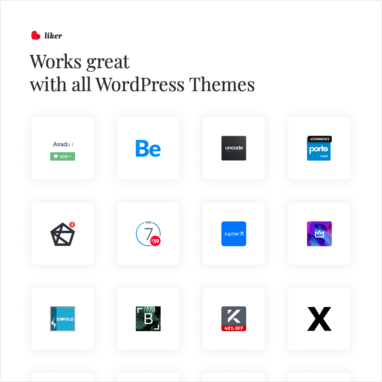 Works great with all WordPress Themes