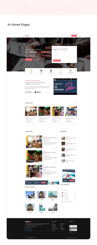 Classipro - Classified Ads WordPress Plugin - 2