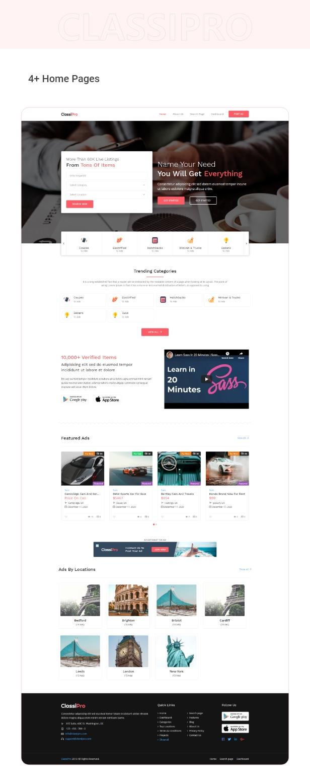 Classipro - Classified Ads WordPress Plugin - 5