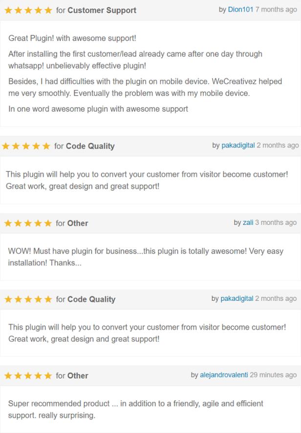 WordPress WhatsApp Support - 2