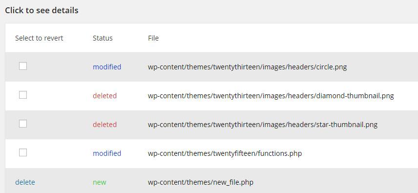 WP Anti Hack File Monitor - 2