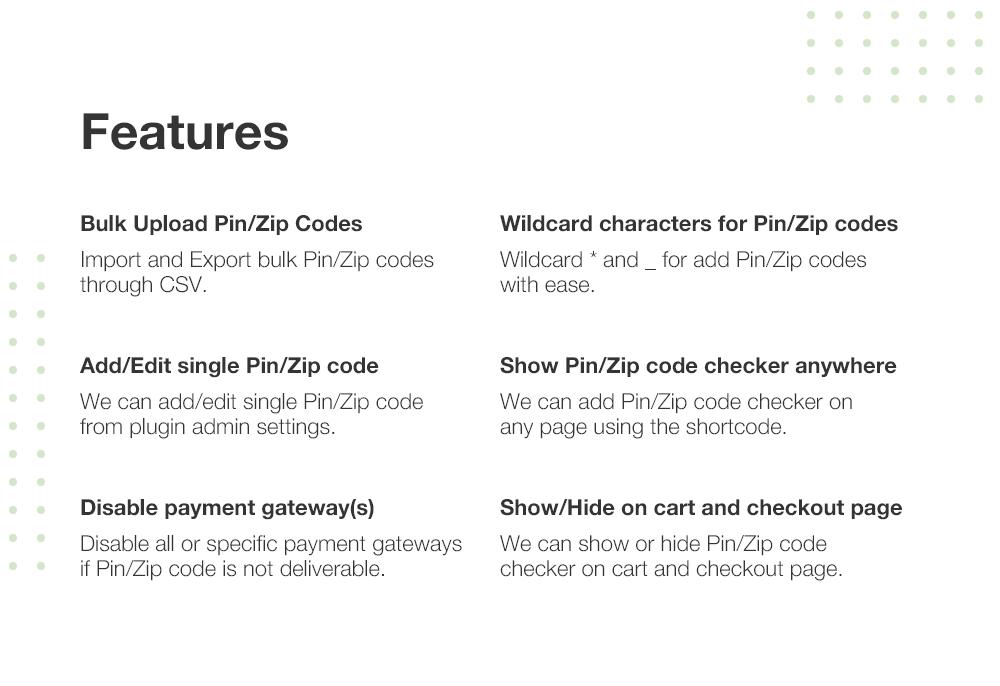 WooCommerce Pincode/ Zipcode Checker - 4