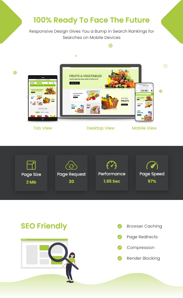 Ecommerce Solution with Delivery App For Grocery, Food, Pharmacy, Any Store / Laravel + Android Apps - 20