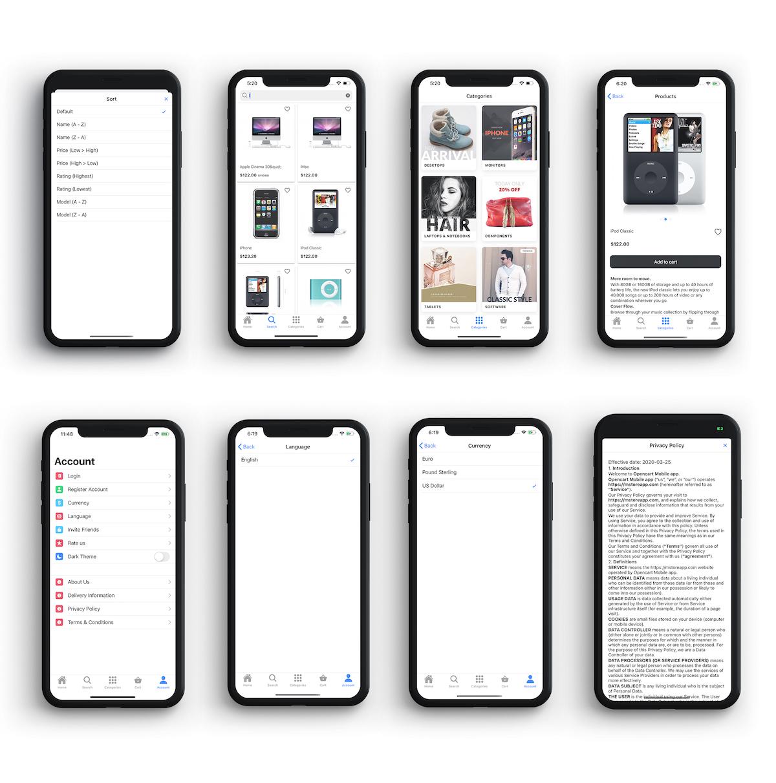Ionic 5 app for WooCommerce - 3