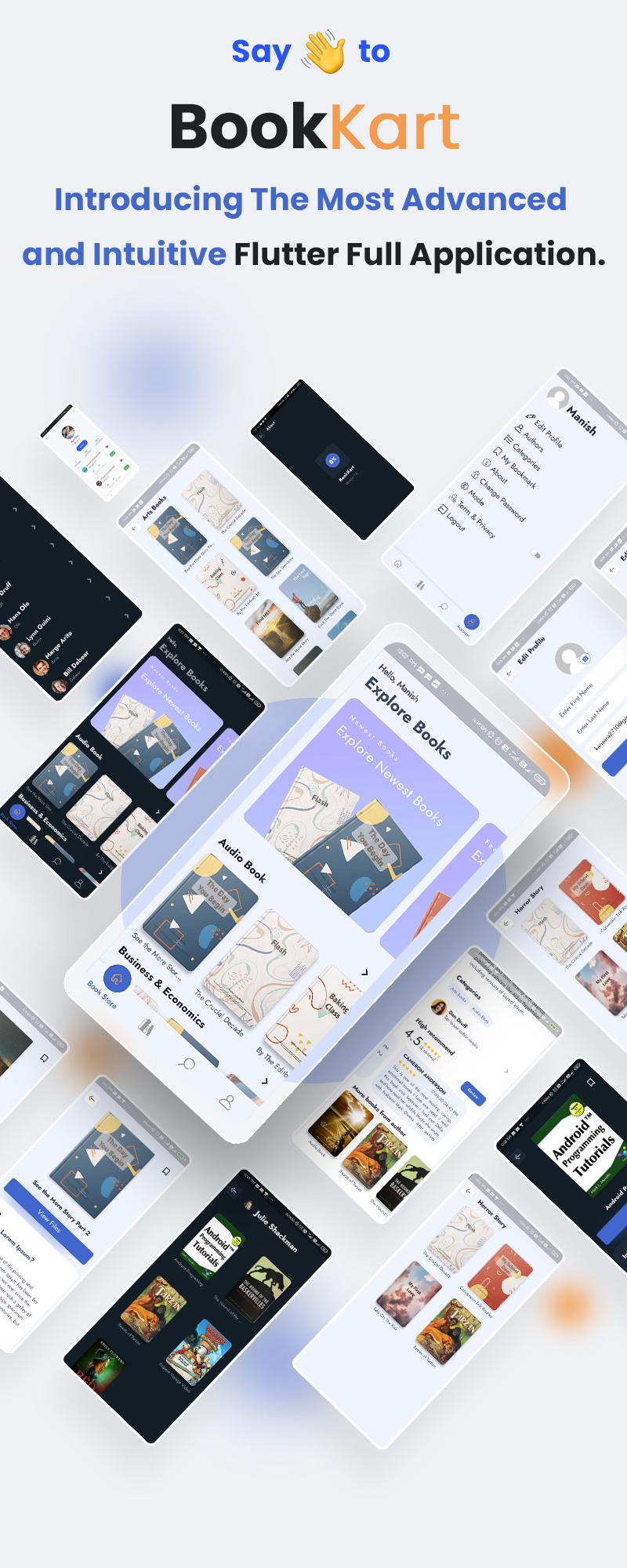 Bookkart: Flutter Ebook Reader App For WordPress with WooCommerce - 6
