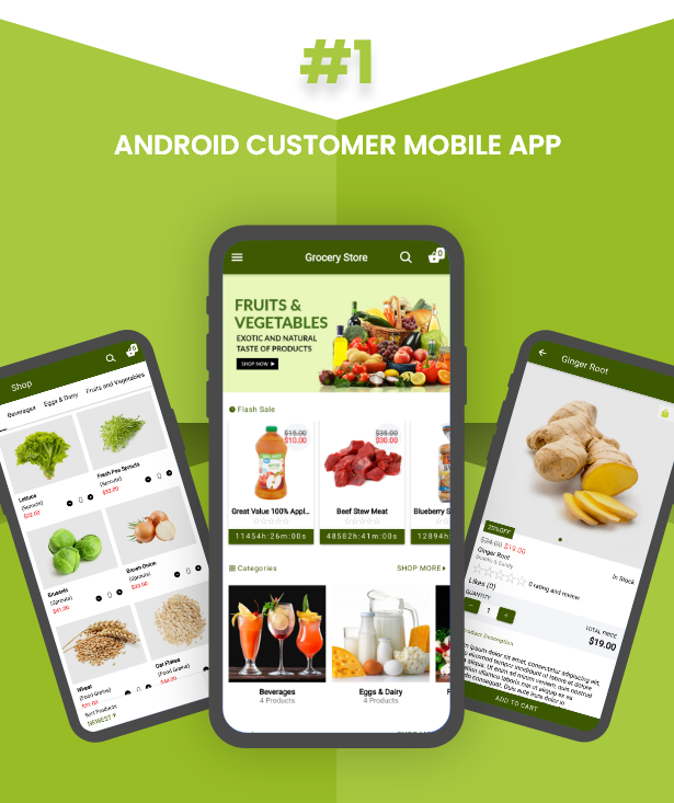 Ecommerce Solution with Delivery App For Grocery, Food, Pharmacy, Any Store / Laravel + Android Apps - 36