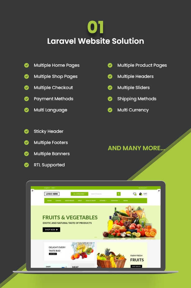 Ecommerce Solution with Delivery App For Grocery, Food, Pharmacy, Any Store / Laravel + Android Apps - 6