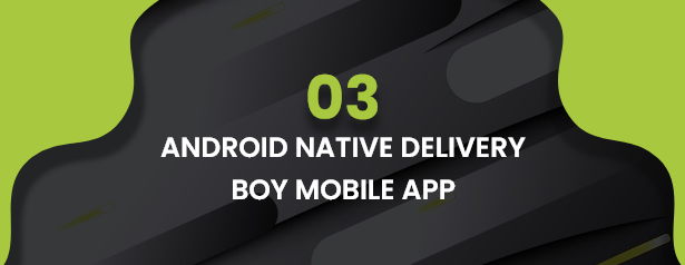 Ecommerce Solution with Delivery App For Grocery, Food, Pharmacy, Any Store / Laravel + Android Apps - 43