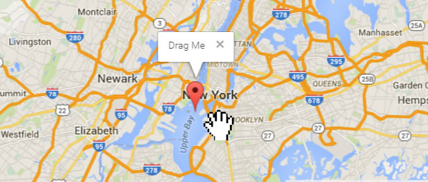 Super Interactive Maps - Drag and Drop Marker Feature