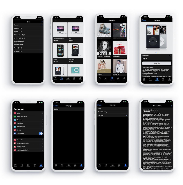Ionic 5 app for WooCommerce - 5