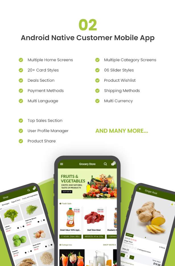 Ecommerce Solution with Delivery App For Grocery, Food, Pharmacy, Any Store / Laravel + Android Apps - 7