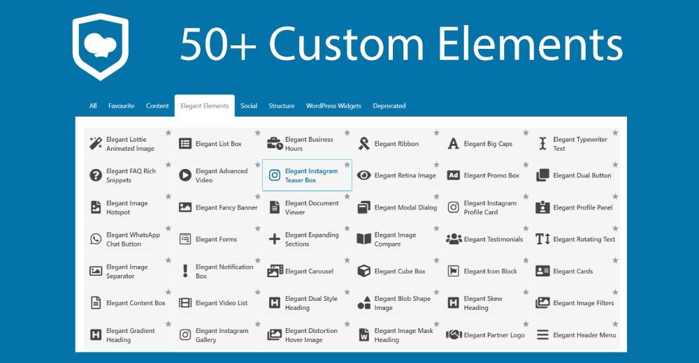 Elegant Elements for WPBakery Page Builder - 1