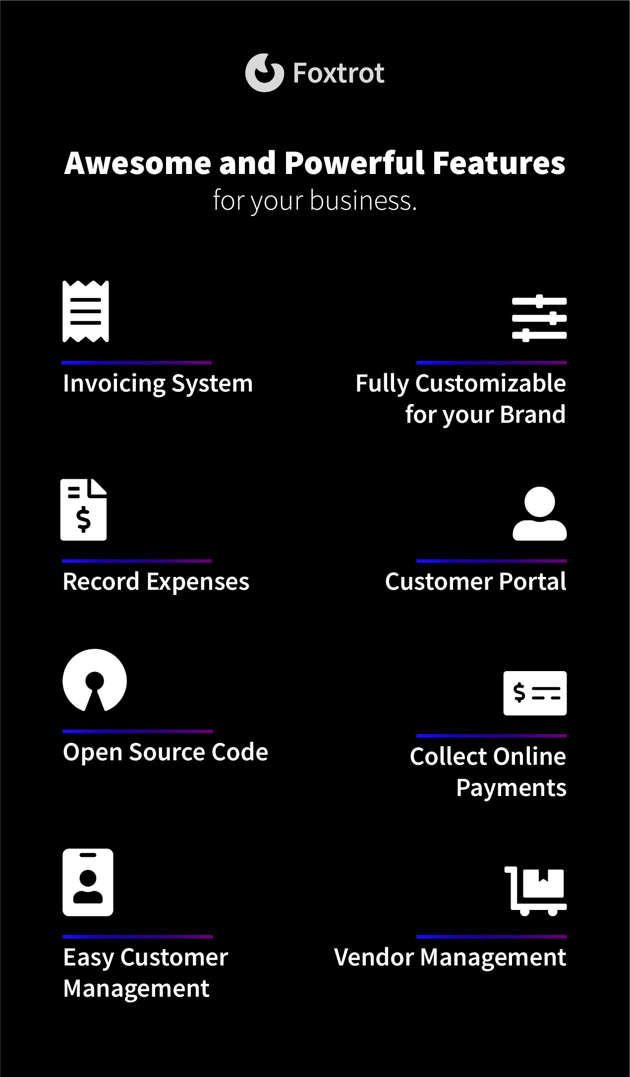 Foxtrot SaaS - Customer, Invoice and Expense Management System - 3
