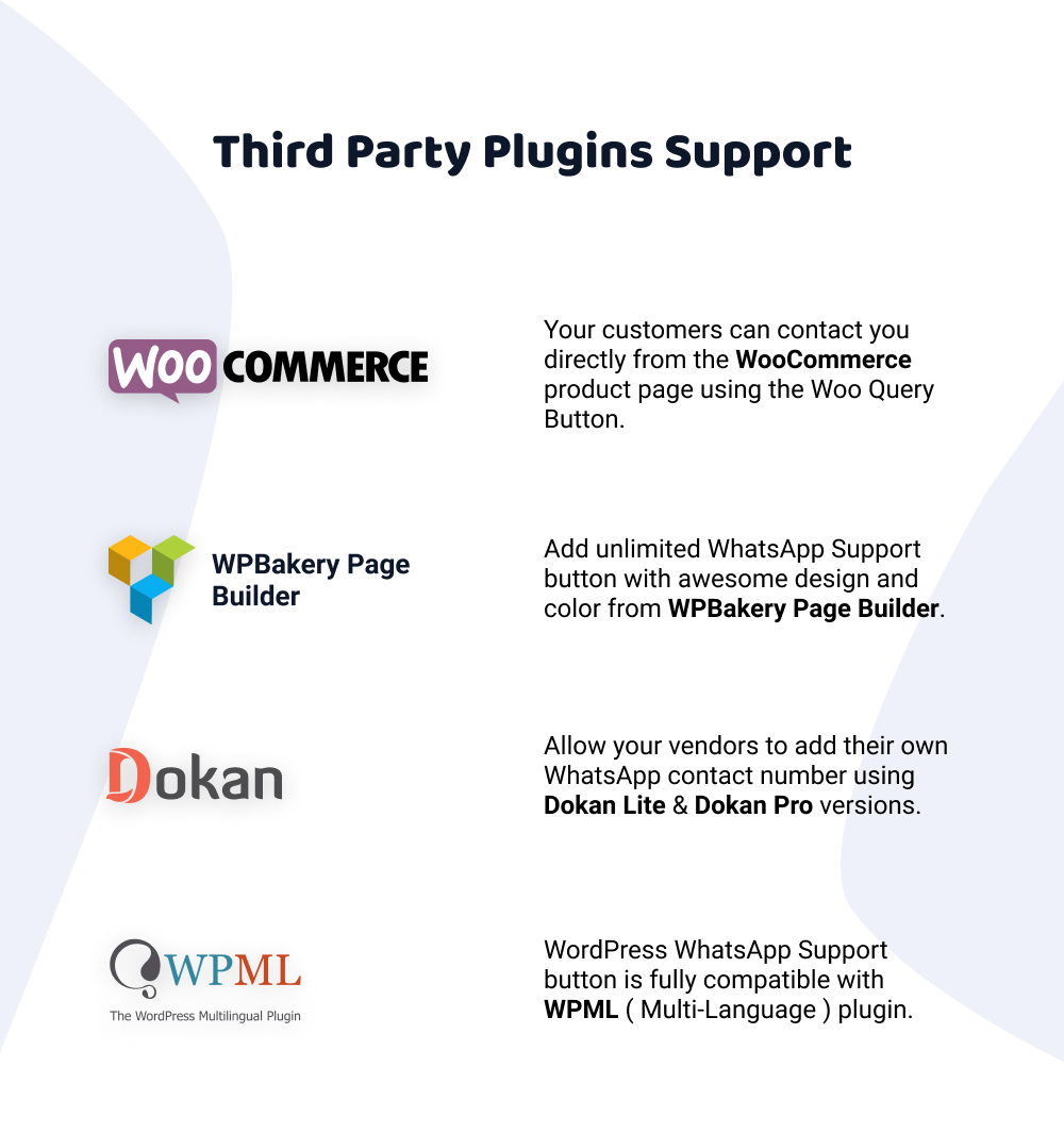 Third Party Support