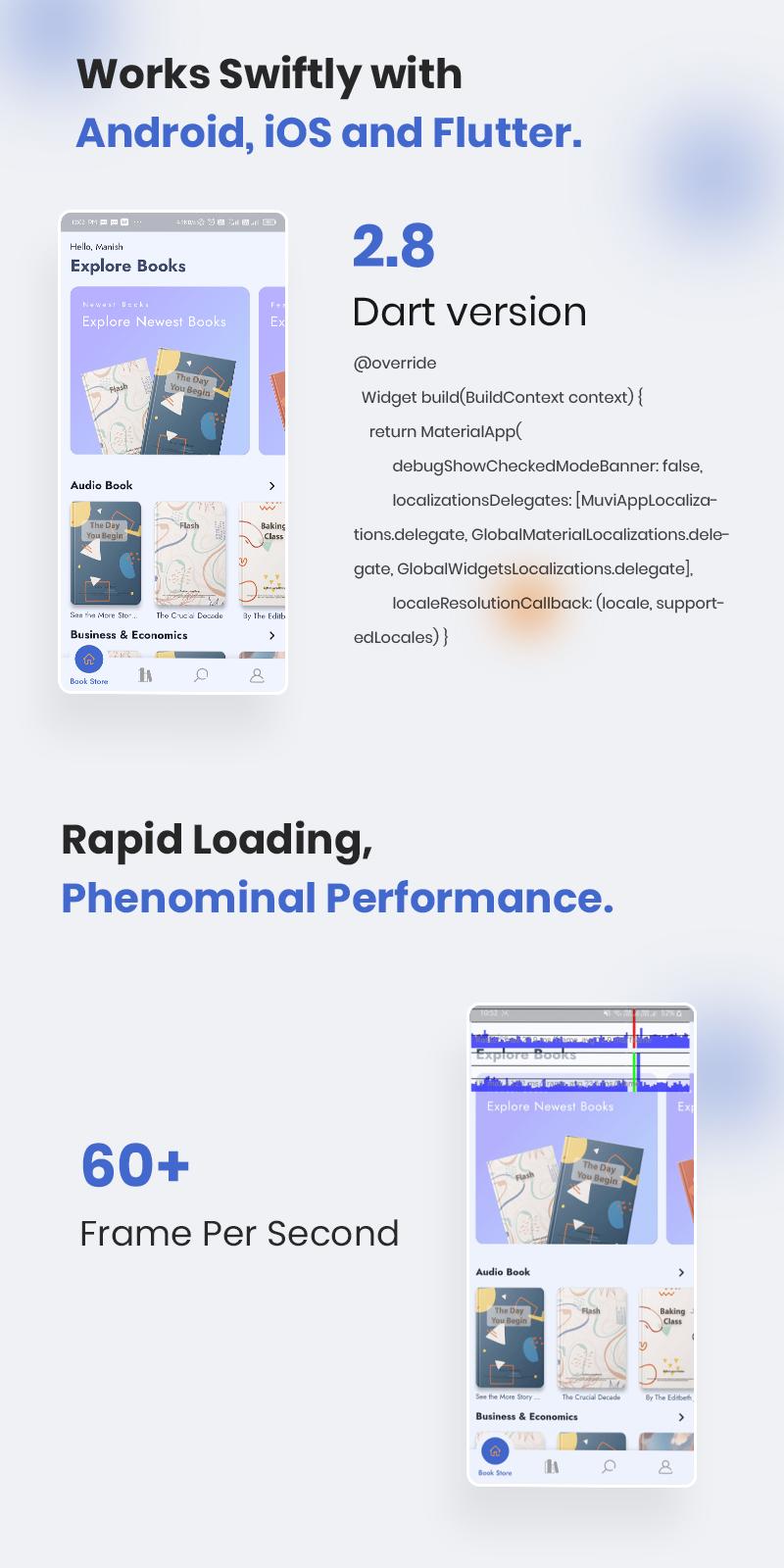 Bookkart: Flutter Ebook Reader App For WordPress with WooCommerce - 19