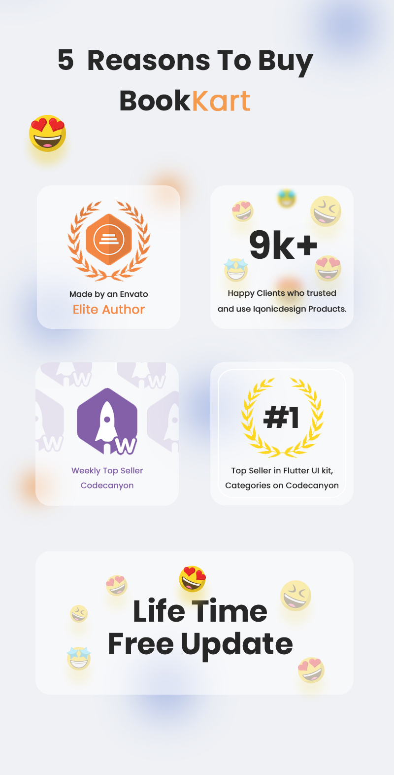Bookkart: Flutter Ebook Reader App For WordPress with WooCommerce - 10