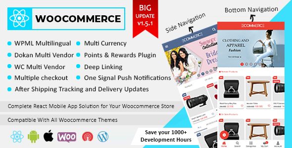 Ionic5 Ecommerce - Universal iOS & Android Ecommerce / Store Full Mobile App with Laravel CMS - 48