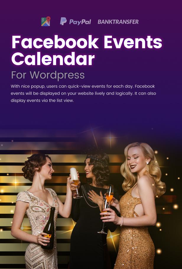 Facebook Events Calendar For WordPress - 5