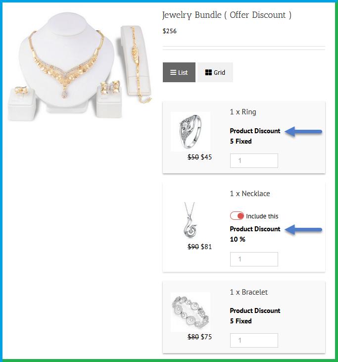 WooCommerce bundle - discount