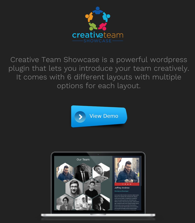 Creative Team Showcase - Team Showcase Plugin for WordPress - 2