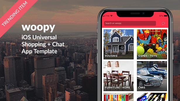 Shoppy | iOS Universal eCommerce App Template (Swift) - 26