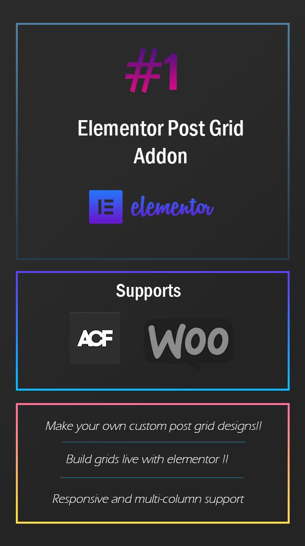 Elementor Post Grid Builder - Frontend Sort and Filter - 1