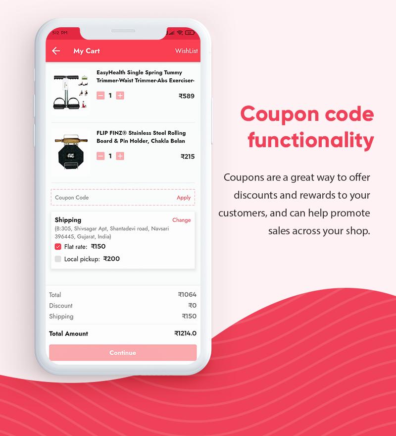ProShop Dokan Multi Vendor - Android E-commerce Full App for Woocommerce - 14