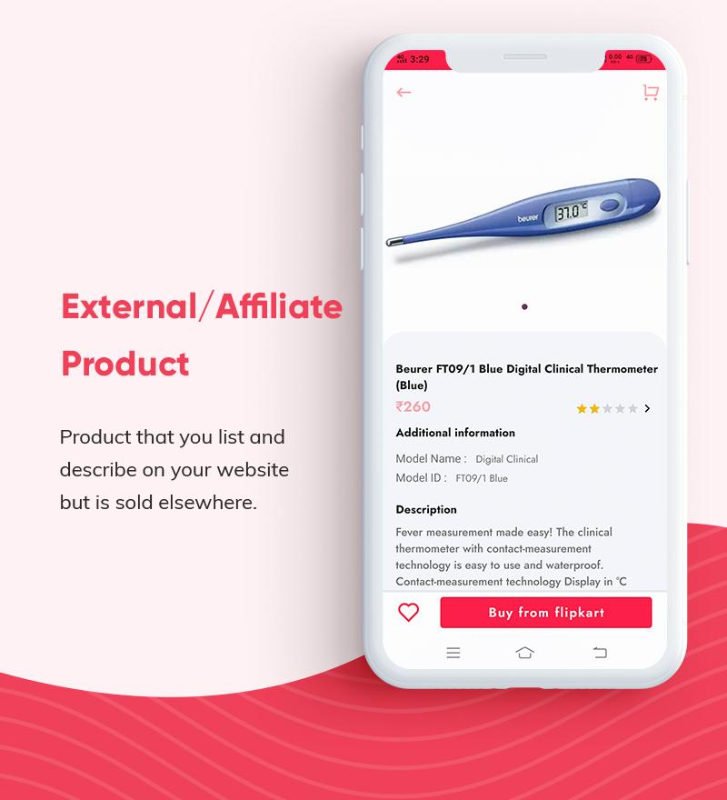 ProShop Dokan Multi Vendor - Android E-commerce Full App for Woocommerce - 17
