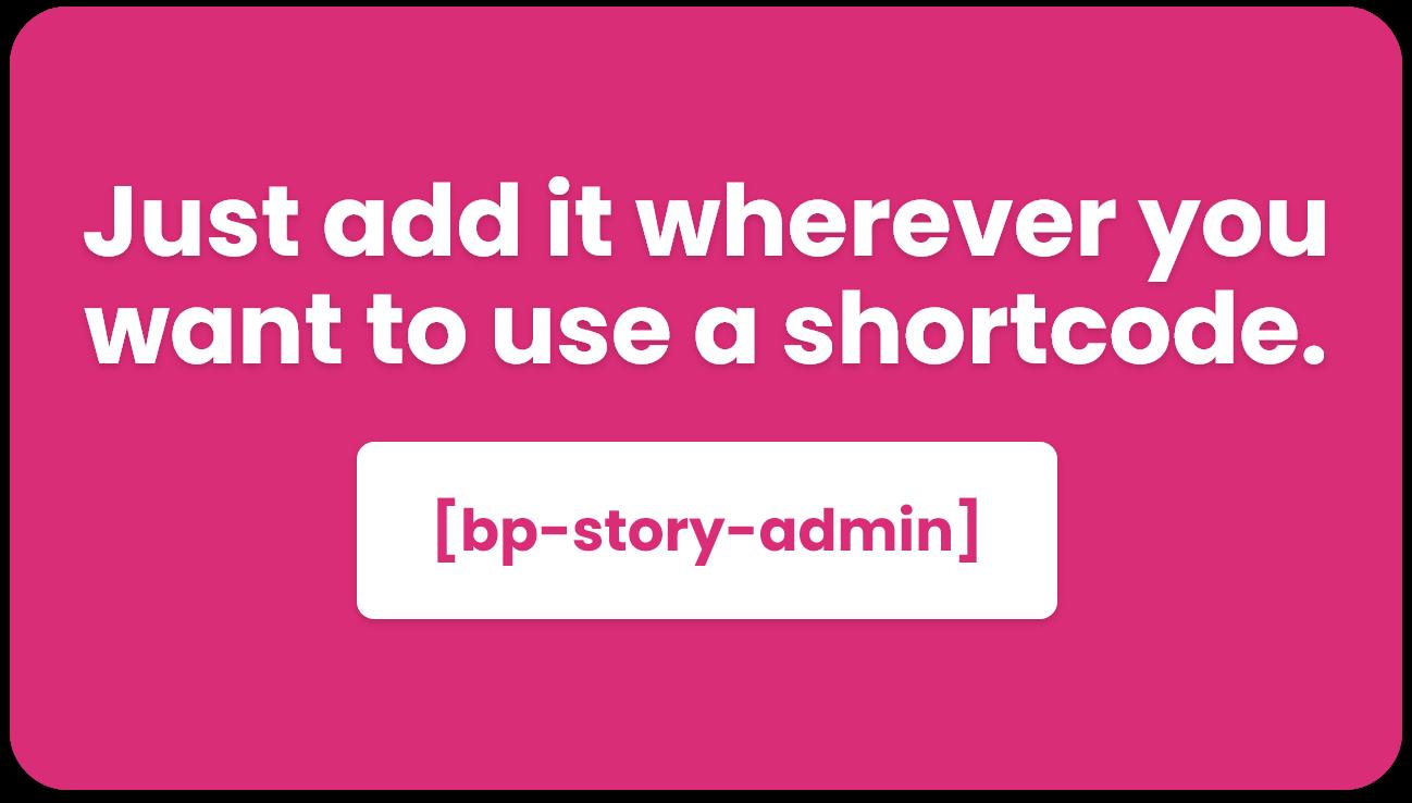 Instagram style stories for WordPress - BP Story - 5