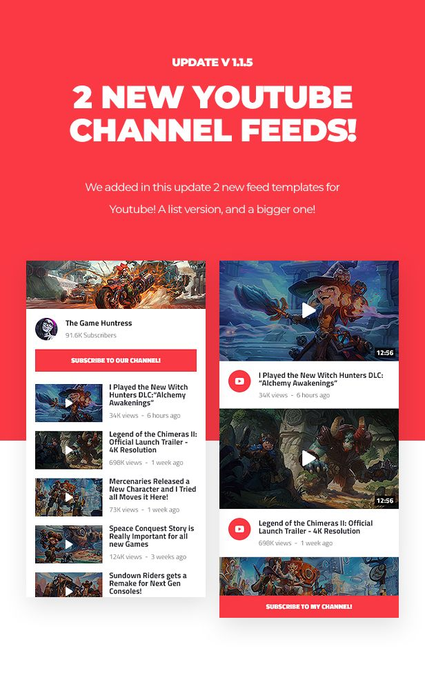 Asgard - Social Media Alerts & Feeds WordPress Builder - Facebook, Instagram, Twitch and more! - 10