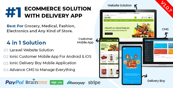 Ionic5 Ecommerce - Universal iOS & Android Ecommerce / Store Full Mobile App with Laravel CMS - 38