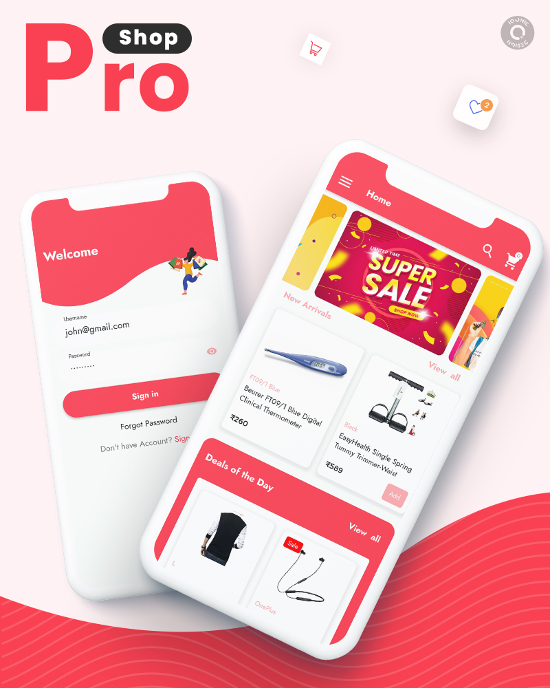 ProShop Dokan Multi Vendor - Android E-commerce Full App for Woocommerce - 4