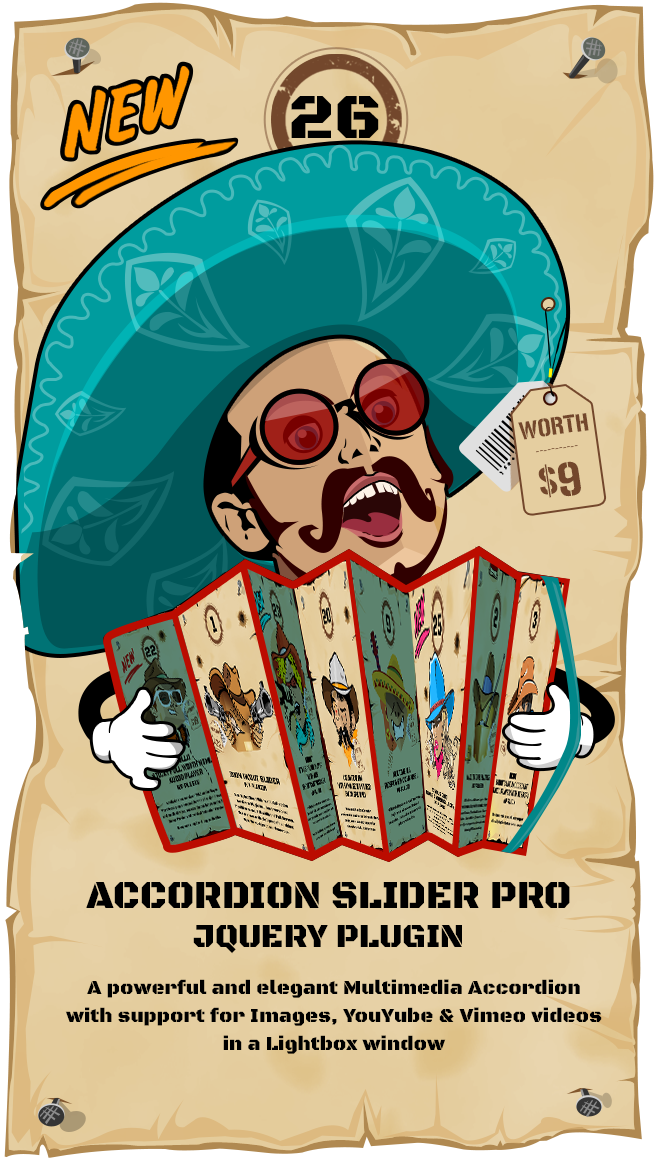 Most Wanted Jquery Plugins Pack Multimedia Accordion Slider jQuery Plugin