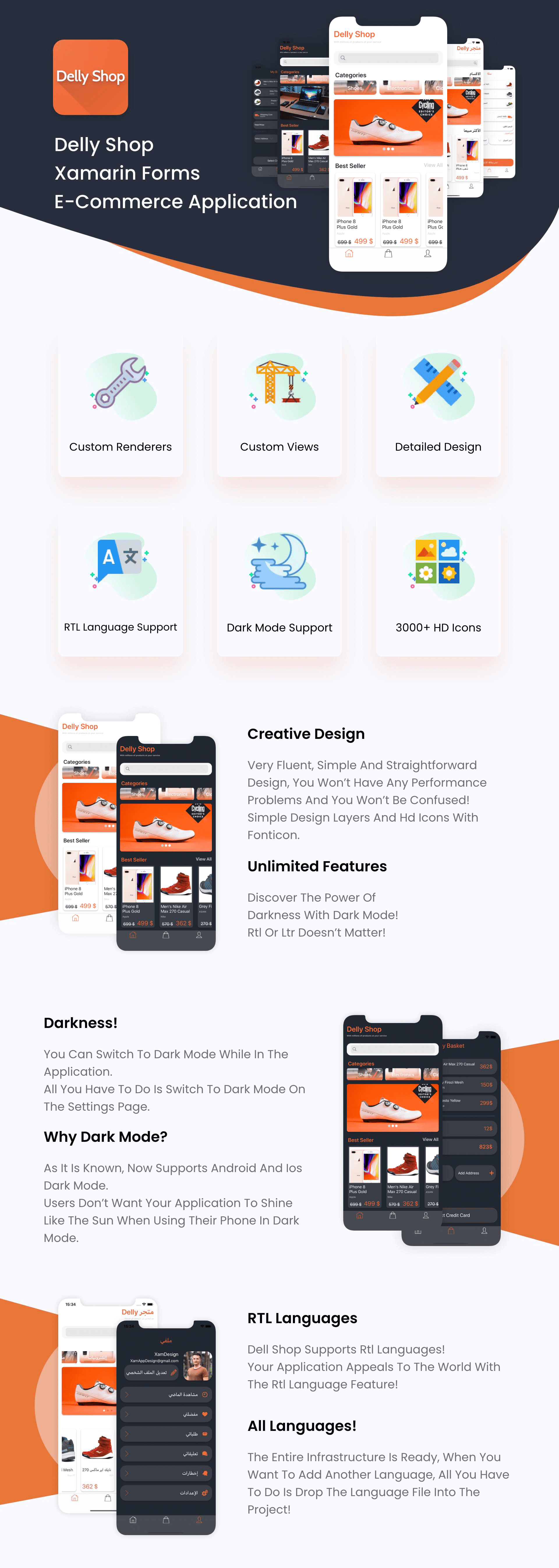 DellyShop E-Commerce App   Xamarin Forms - 9